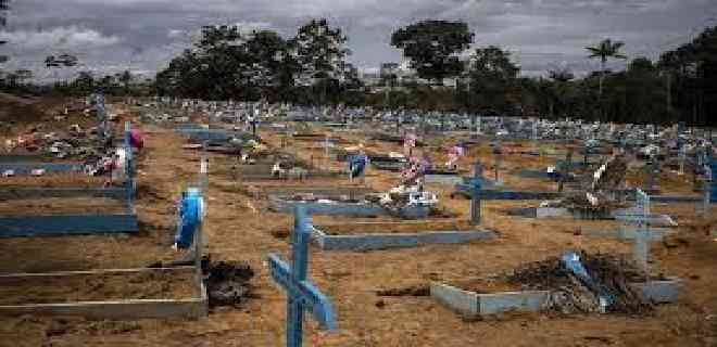 Brasil suma otras 1.129 muertes y el total asciende a 91.263