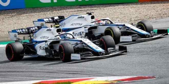Equipo Williams confirma a sus pilotos para el 2021