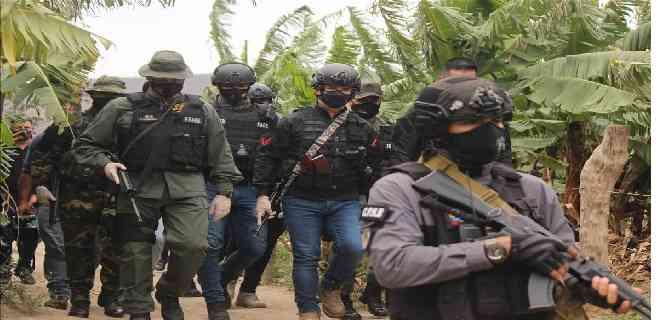 Detenidas seis personas que intentaban ingresar al país por las trochas en Táchira