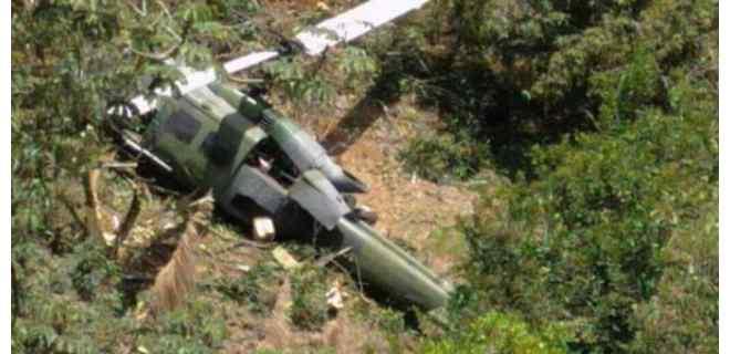 Confirman muerte de 9 militares colombianos desaparecidos tras accidente