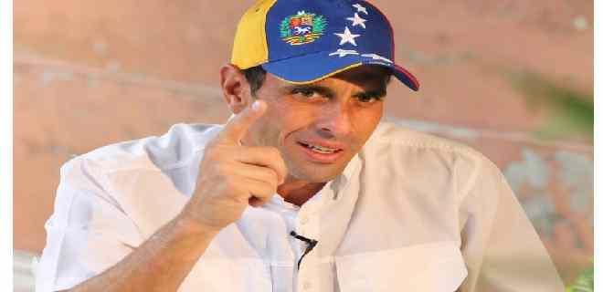 """Capriles le responde a Maduro: """"Yo no quiero ser candidato, lo que queremos es que salgas del poder"""""""