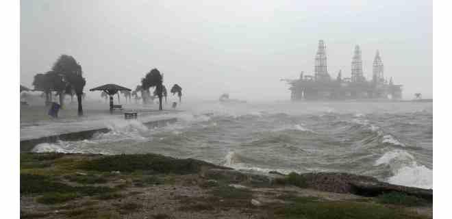 Hanna, 1er huracán de temporada atlántica, tocó tierra en Texas