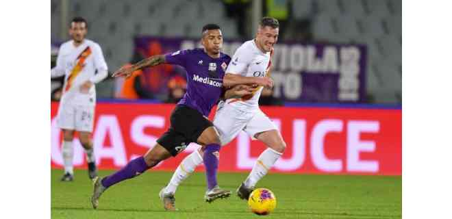 El Roma ganó al Fiorentina y acaricia el pase directo a la Liga Europa