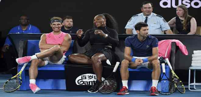 Djokovic, Nadal y Serena Williams se inscriben para el abierto de EEUU