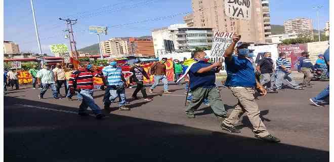 Petroleros en Anzoátegui pidieron destitución de Wills Rangel y Asdrubal Chávez