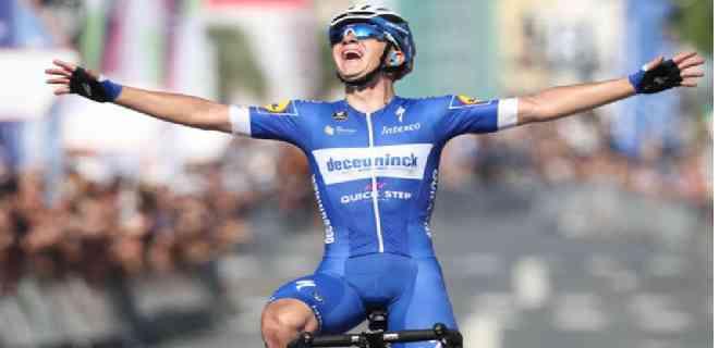 Remco Evenepoel se llevó la tercera etapa de la Vuelta a Burgos