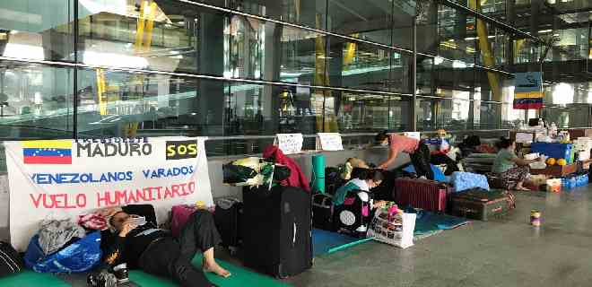 Venezuela autoriza vuelo humanitario a España con cuatro días de retraso