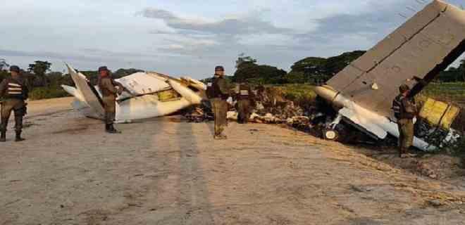 FANB neutralizó avioneta que sobrevolaba el Sur del Lago de Maracaibo