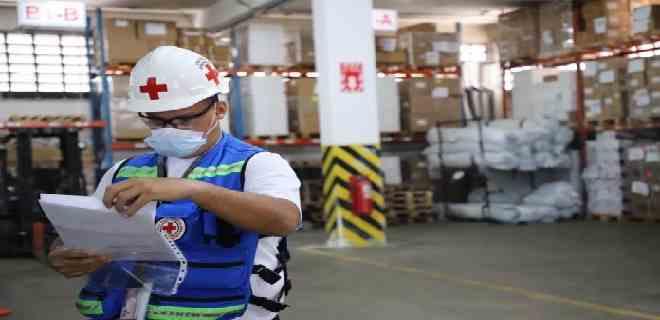 Cruz Roja de Venezuela recibió 13 toneladas de ayuda humanitaria