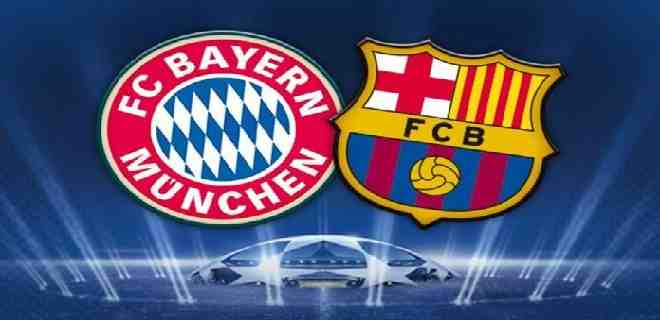 El Bayern de Múnich enfrentará al Barcelona en los cuartos de la Champions