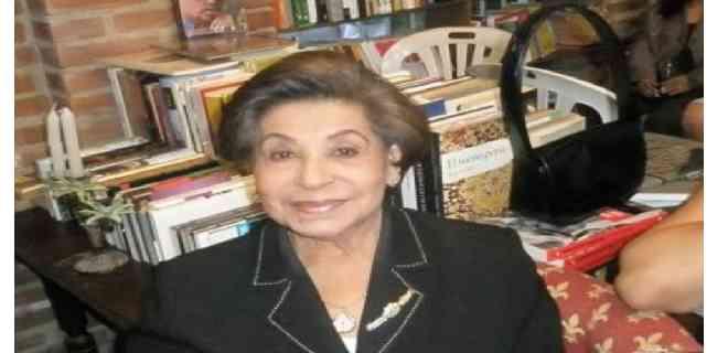 Falleció la exprimera dama Blanca Rodríguez de Pérez