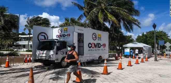 Florida registra nuevo récord de muertes por el virus