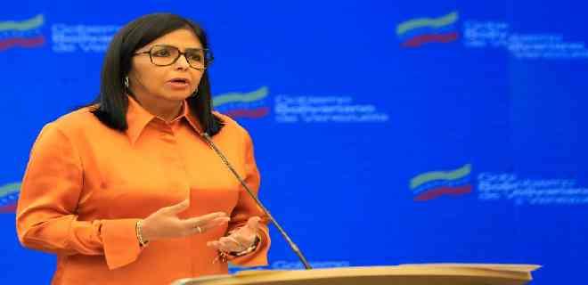 Delcy Rodríguez reportó 995 nuevos casos y seis fallecidos por Covid-19