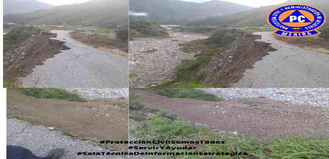 Protección Civil atiende deslizamiento de tierra en Aracay