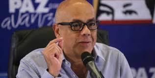Jorge Rodríguez informó que se contagió de coronavirus
