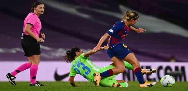 El Wolfsburgo elimina al Barcelona en semifinales de la Champions femenina