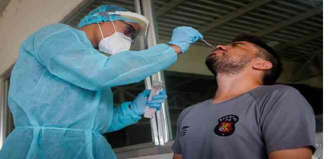 El Caracas FC suspendió sus entrenamientos al detectar varios casos de covid-19