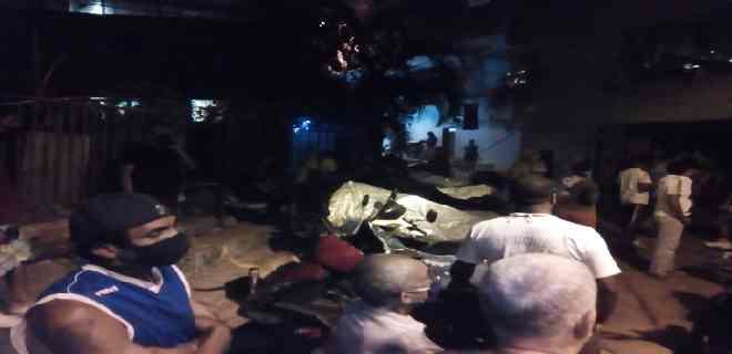 Un muerto y 4 heridos deja explosión de bombona de gas en Caracas