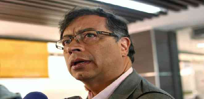 Gustavo Petro, precandidato presidencial en Colombia por la Unión Patriótica