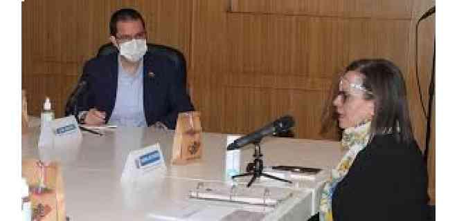 CNE y Cancillería debatieron sobre acompañamiento electoral internacional