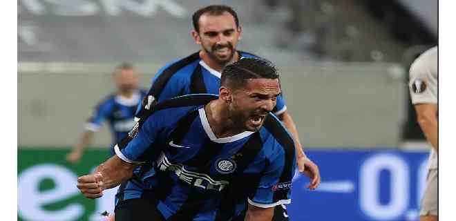 Inter golea y avanza a la final de la Europa League contra el Sevilla