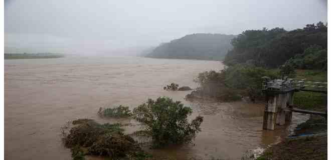 Las lluvias suman ya 42 muertos en Corea del Sur