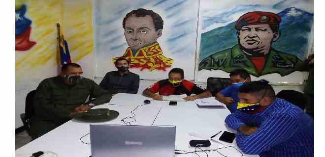 Estado Mayor de Alimentación transmitió orientaciones del ministro de alimentación y protector de Mérida