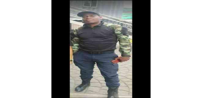 Funcionario de las Fuerzas de Acciones Especiales (FAES) resultó muerto