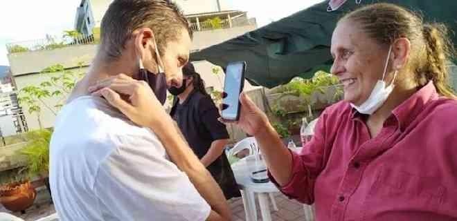 Requesens en casa | Con un GPS en el tobillo y custodia policial