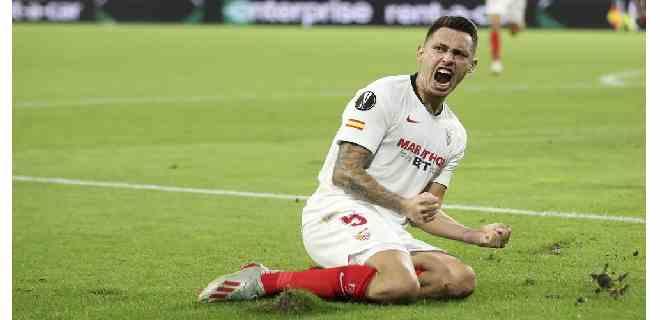 El Sevilla a semifinales de la Liga Europa con anotación decisiva de Ocampos