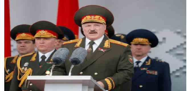 Lukashenko acusa a Occidente de financiar abiertamente las protestas