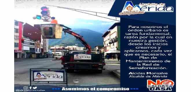 Desde el inicio de la gestión se aplica Plan de Mantenimiento de la Red de Semaforización