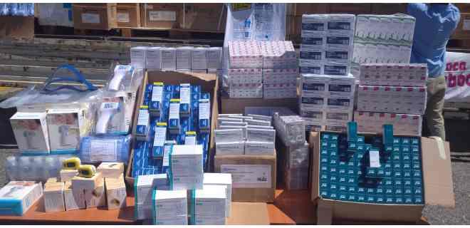 Mérida recibió este lunes 229.424 unidades de medicamentos e insumos médicos