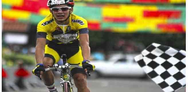 El venezolano Orluis Aular mejora en el Tour del Limousin
