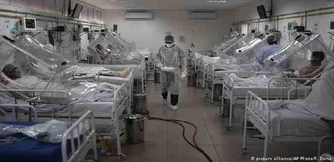 Brasil se aproxima a los 100 mil muertos por covid-19