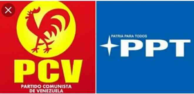 PCV y PPT retiran apoyo al Psuv en las parlamentarias