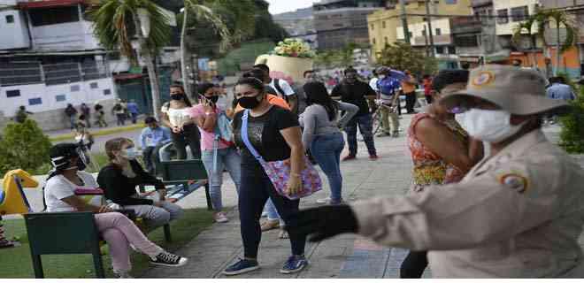 Venezuela sobrepasa los 40.300 contagios tras 774 nuevos casos de Covid-19