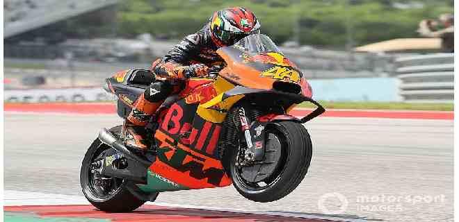 Espargaró extiende buen momento de KTM dominando prácticas en Austria