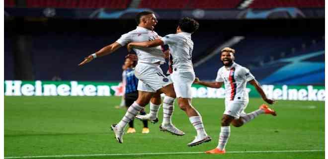 El PSG remontó al Atalanta y avanzó a semifinales