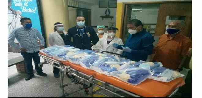 Ambulatorio de Tabay recibió material de bioseguridad para personal médico y paramédico