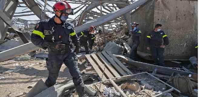 Líbano eleva a 160 los muertos y el ejército encuentra cinco cuerpos más