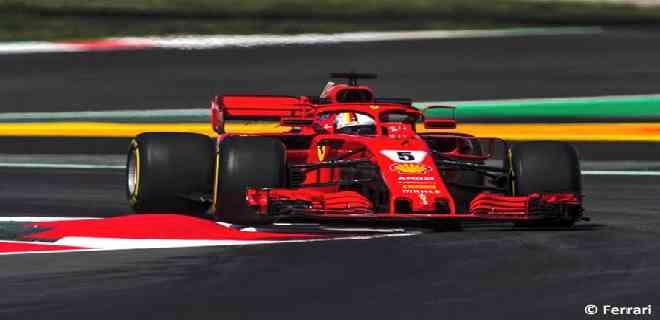 Ferrari le entregará otro chasis a Vettel para el GP de España