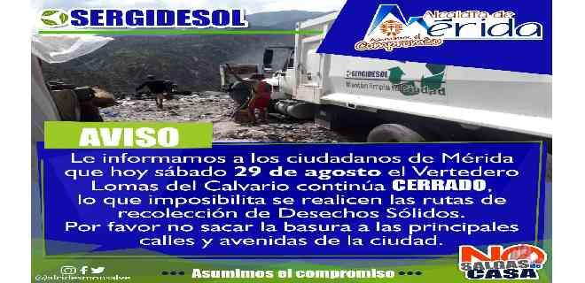Por cierre de Vertedero Mérida colapsa en basura