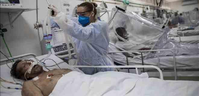Brasil contabiliza más 103 mil fallecidos por coronavirus