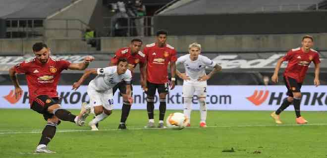 El United doblegó en la prórroga al Copenhague y avanzó a semifinales