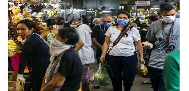 Venezuela registró 6 fallecidos y 769 nuevos casos de covid-19