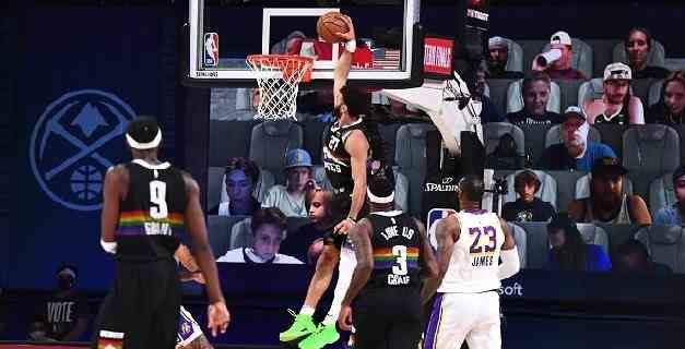 Los Nuggets frenan a los Lakers y se meten en la lucha por la conferencia
