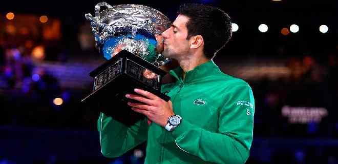 Djokovic reconoció que su objetivo es el récord absoluto de «Grand Slams»
