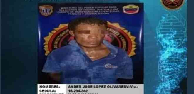 Detenido en Falcón hombre que abusó y mató a su prima de 17 años