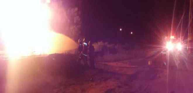 Tres heridos en Cabimas al tratar de sustraer gasolina y provocar un incendio